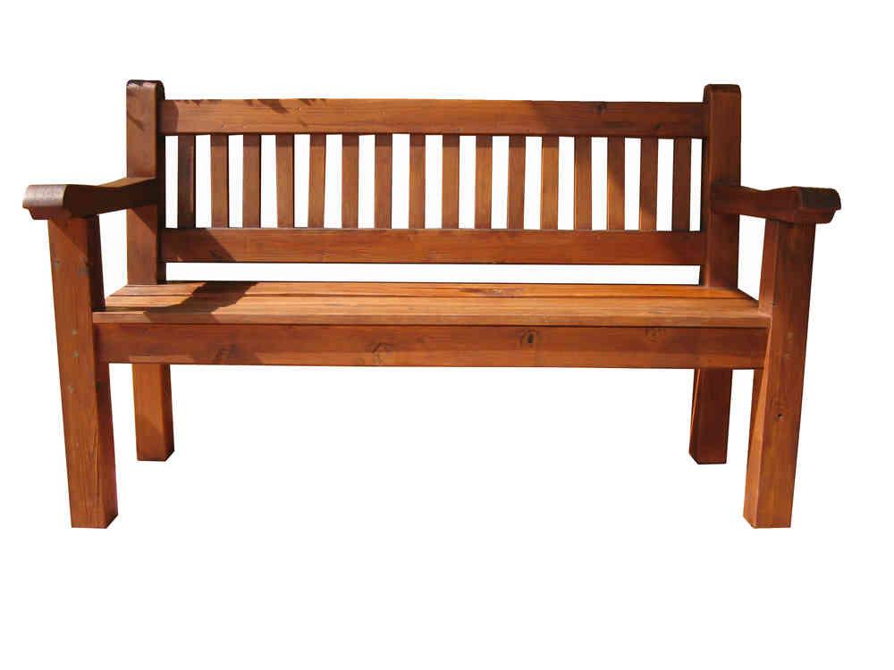 banco de madera - PergoMob