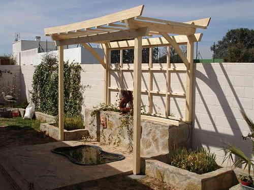 pergomob estructuras de madera en kit porches pergolas